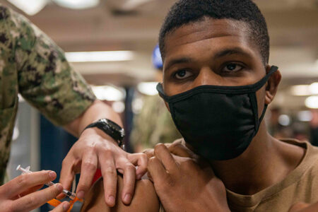 U.S. Navy Administers One Million Vaccines Since the Beginning of the COVID-19 Pandemic