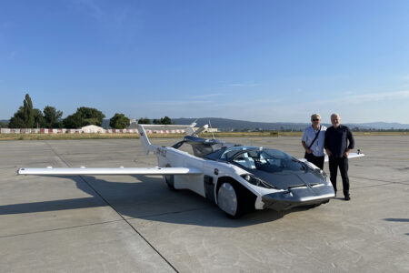Aircar's Flying Car Completes First Ever Inter-City Flight