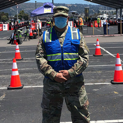 California Troops Help Vaccinate Nearly 1.5 Million in State