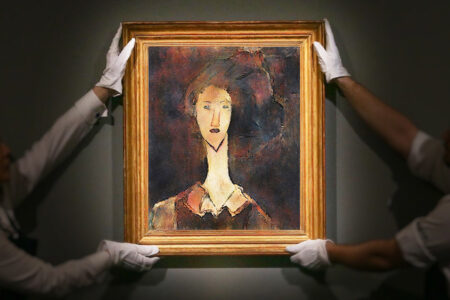 Artificial Intelligence Unmasks the Cover Up Beneath Amedeo Modigliani's 'Portrait of a Girl'