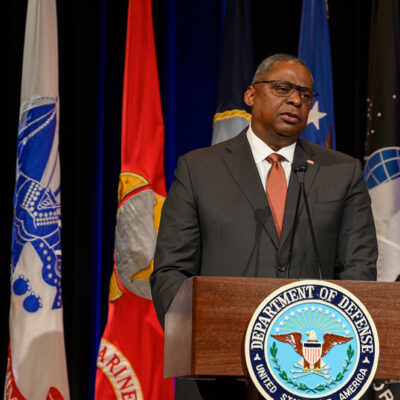 Secretary of Defense Lloyd J. Austin III: 'No One Should Have to Hide Who They Love to Serve the Country They Love'