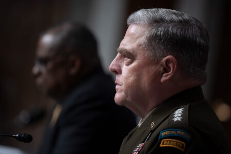 U.S. Army General Mark A. Milley Says Fiscal Year 2022 Defense Budget Request Balances Readiness, Modernization