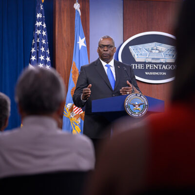 Austin Details Messages He Will Deliver in Indo-Pacific, Discusses Afghanistan