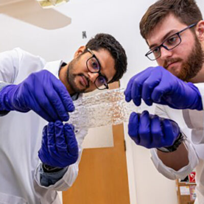 Making Clear Biodegradable Film From Crop Residue