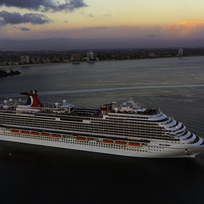 Carnival Cruise Line Sets Sail on First Cruise From California