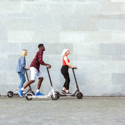 Explore San Francisco on an Electric Scooter in a High-Tech Outdoor Escape Game