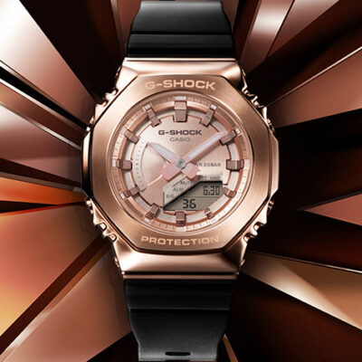 G-SHOCK Adds to Its Women's Collection With New Series of Metal Covered Timepieces