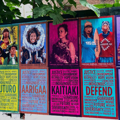 Large Art Installations Featuring 9 Indigenous Women Leaders to Appear in Cities Worldwide