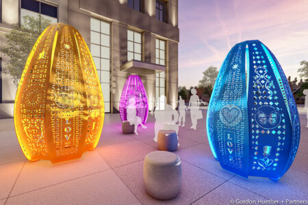 Gordon Huether Unveils 'Luminaria' in Albuquerque, NM, Honoring Victims of Violence