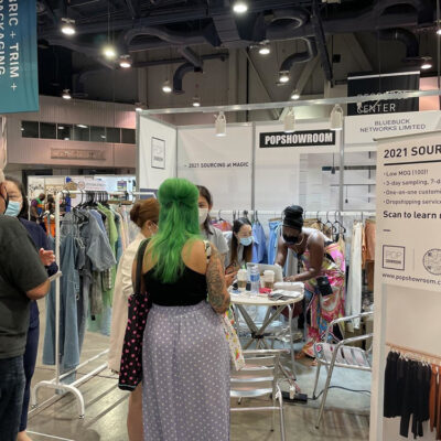 POPSHOWROOM: Tailoring the Future of Fashion Industry by Tech-Driven Supply Chain
