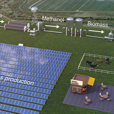Solar-Powered Microbes to Feed the World?