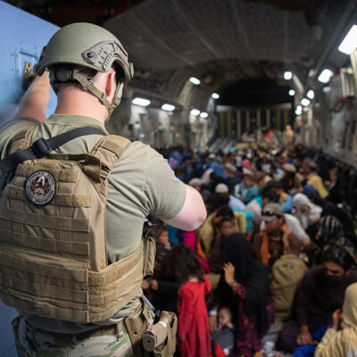 With Afghanistan Evacuation, It's Lives Over Equipment … Period, DOD Spokesman Says