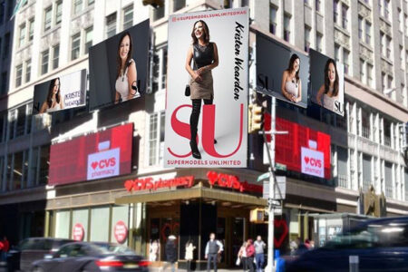 Florida Model Kristen Weardon Treading the NYFW Runway for Supermodels Unlimited Magazine Diversity Rocks Feature