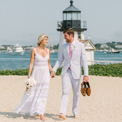 Maria Vittoria Cusumano and Christopher Sherman – Celebrity Couple Married on Nantucket Island (Exclusive)