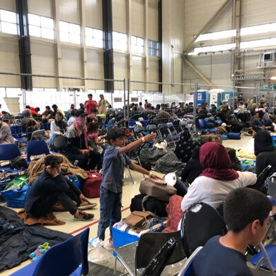 Ramstein Air Base: Setting Up an Instant City for Afghan Evacuees