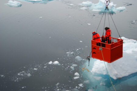 Climate Change Threatens Base of Polar Oceans' Bountiful Food Webs