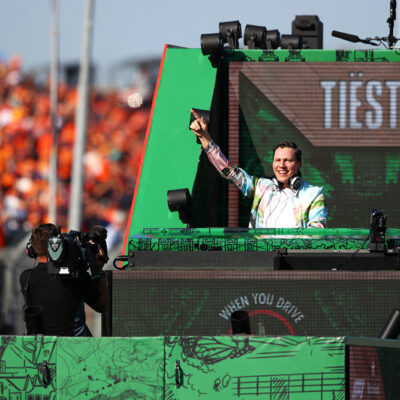 TIËSTO Celebrated F1 Heineken Dutch Grand Prix With Exclusive Live Performance