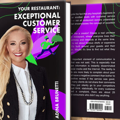 Transform Your Restaurant With All-New Book From Adina Brunetti