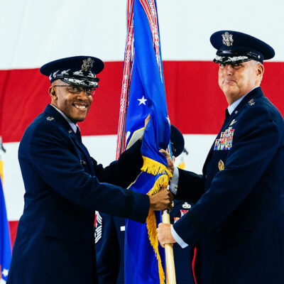 Air Mobility Command Welcomes New Commander Gen. Michael A. Minihan