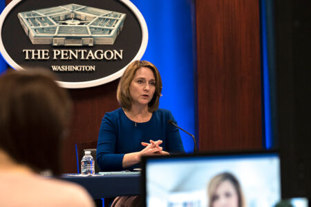 Hicks Discusses DOD Issues, Career Advice in 'Smart Women, Smart Power'