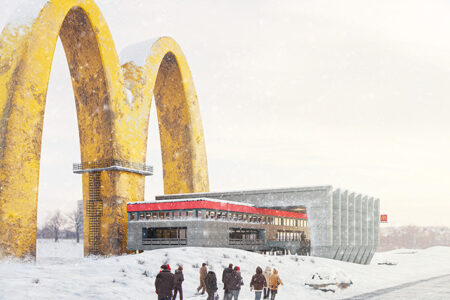 Architect Quin Wu Blends the Soviet Union Centrally Planned Economy With McDonald's