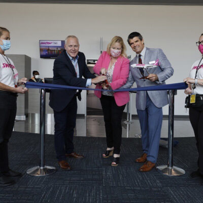 Swoop Arrives at Orlando Sanford International Airport